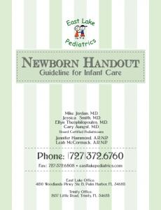 Newborn Handbook